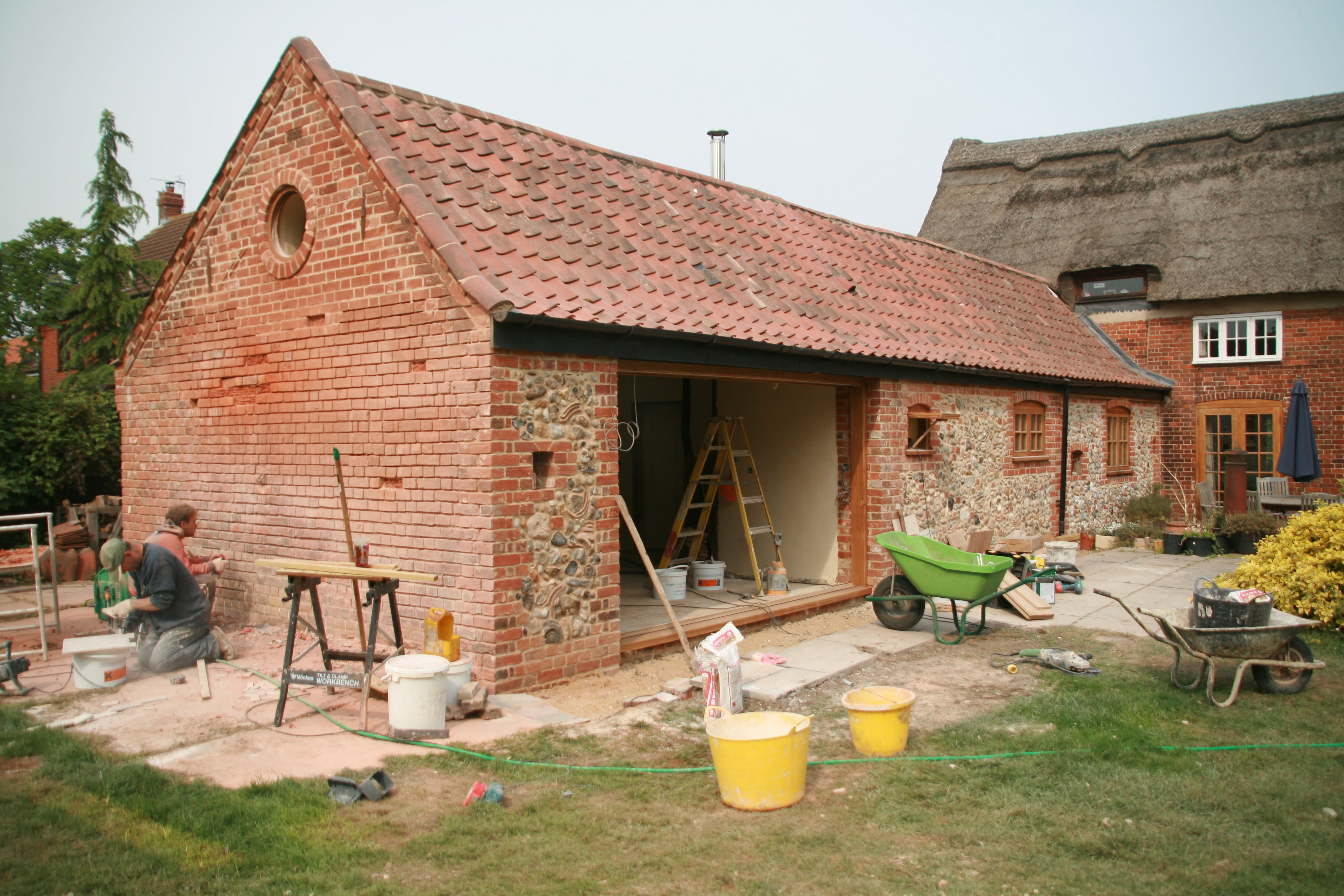Period Listed Building Restoration Lime Mortar